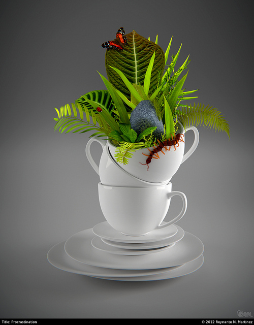 cups,saucers,crockery,greenery